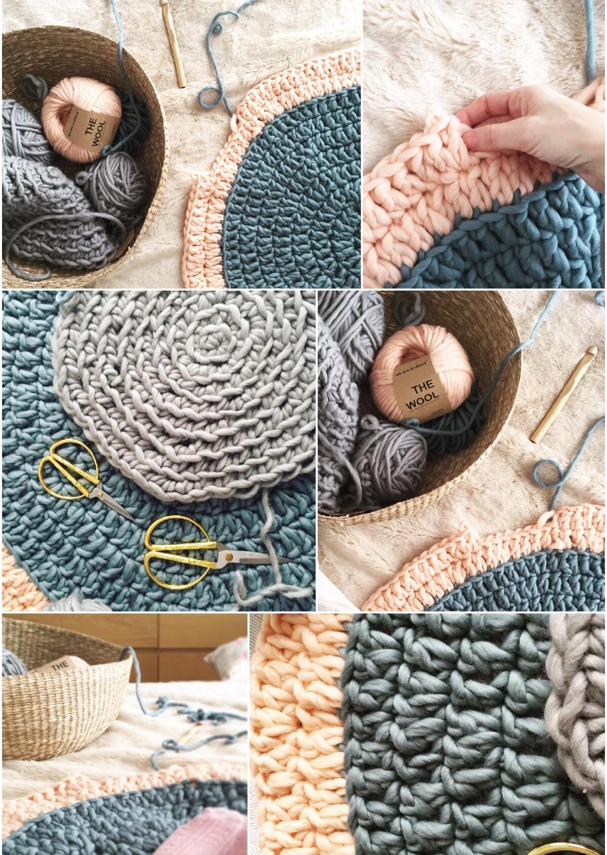 Como hacer alfombras de lana a mano - Como limpiar alfombras de lana ...